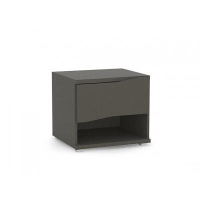 Noční stolek REA Wave 1 - graphite