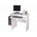 Písací stôl Melichar - biela