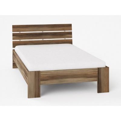Studentská postel REA Nasťa 120x200cm - ořech