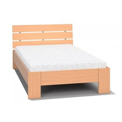 Studentská postel REA Nasťa 120x200cm - buk