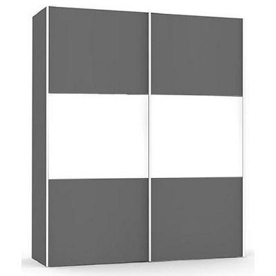 Vysoká šatní skřín REA Houston up 5 - graphite