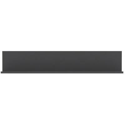Visící polička Libelle - šedý mat