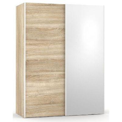 Šatní skřín se zrcadlem REA Houston 1 - dub bardolino