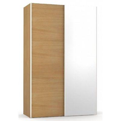 Šatní skřín se zrcadlem REA Houston 4 - buk