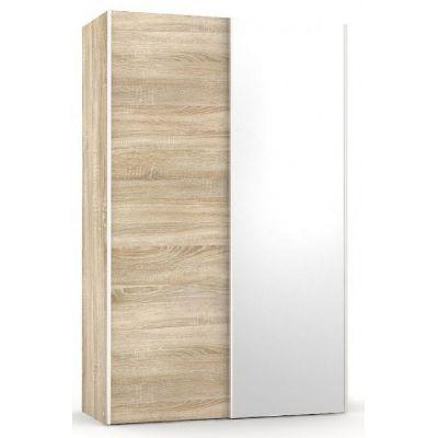 Šatní skřín se zrcadlem REA Houston 4 - dub bardol