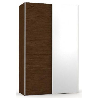 Šatní skřín se zrcadlem REA Houston 4 - wenge