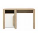 Detský písací stôl Face - dub sonoma/biela