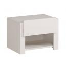 Dětský noční stolek Dietrich  bílá/ lak