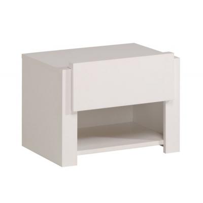 Dětský noční stolek Dietrich bílá/ lak 300494