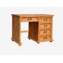 Psací stůl dřevěný selský BIK 02 - výběr moření