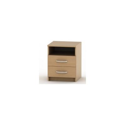 Noční stolek Jena - 2 zásuvky sk-BE03-022-00