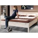 Študentská posteľ Sunny - dub pieskovy/biela