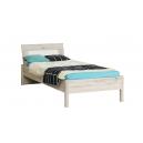 Detská posteľ Sunny 90x200 cm - dub pieskový / biela