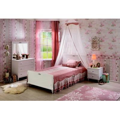 Malý studentský pokoj Ema-bílá