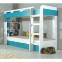 Dětská patrová postel Moli 19 - výběr barev
