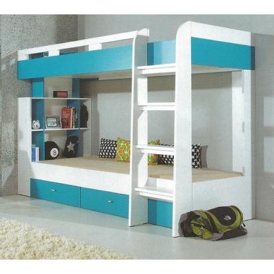 Dětská patrová postel Moli 19 - výběr barev 1181622