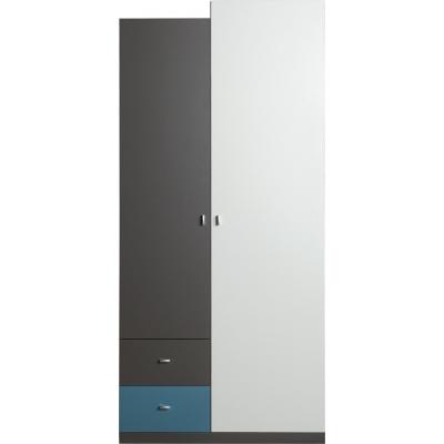 Skříň Tonda 3 - atlantic/bílý/grafit 081754