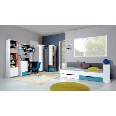 Detská izba Tonda 2 - Atlantic / biely / grafit