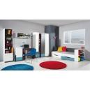 Detská izba Tonda 3 - Atlantic / biely / grafit