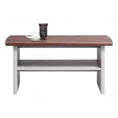 Studentský konferenční stolek Miki - dub/modřín sibiřský