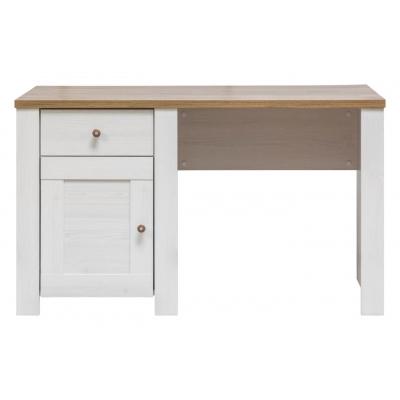 Psací stůl ED - modřín sibiřský/dub