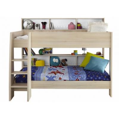 Dětská patrová postel Boob - světlá akácie 301106
