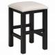 stolička pro děti  Bingo - bílo/černá