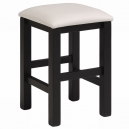 Stolička Bingo - černá/bílá