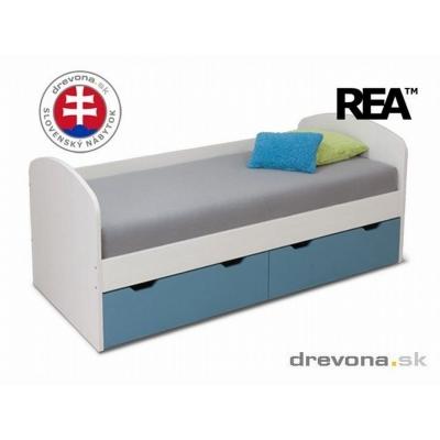 Dětská postel REA Golem 90x200cm - výběr odstínů