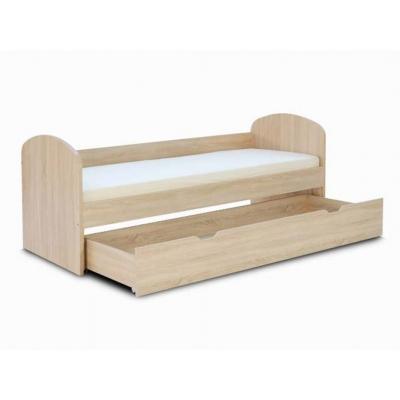 Dětská postel REA Kakuna s 1 šuplíkem - výběr odstínů