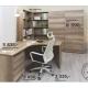 Rohový psací stůl REA 160 - výběr odstínů
