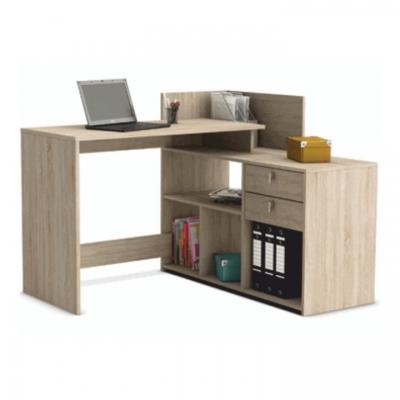 Psací stůl rohový - dub sonoma TE-0000108363
