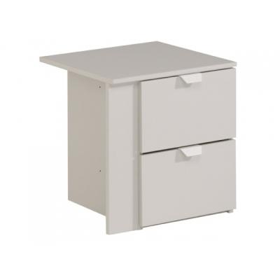 Komoda do šatní skříně Clea (2S) - světle šedá 301669