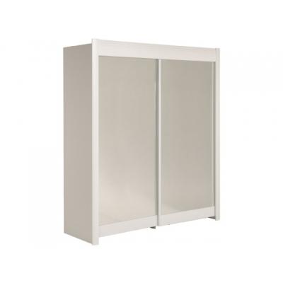 Šatní skříň Clea 180 - bílá 301658