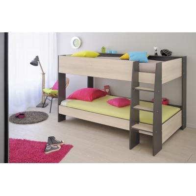 Dětská patrová postel James s šuplíkem 300617