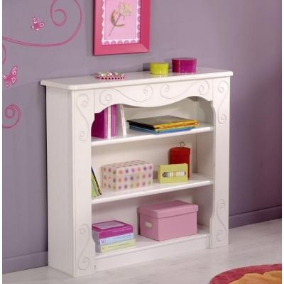 Dětská knihovna Alice - bílá 300514