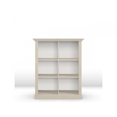 Knihovna Moris - bílá 84127