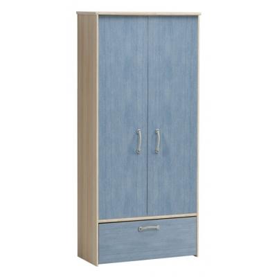 Dětská šatní skříň Blau