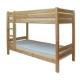 Dětská patrová postel Ala masiv borovice