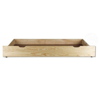 Šuplík pod postel 195 cm borovice