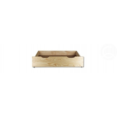 Šuplík pod postel 97 cm borovice