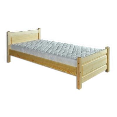 Masivní postel z borovice 90x200