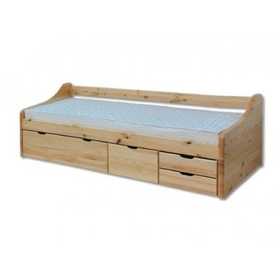 Dětská postel s šuplíky z masivu
