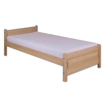 Buková postel z masivu 90x200 kom - KL-120