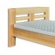 detail bukové postele