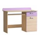 Dětský psací stůl Limo fialový