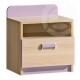 Dětský noční stolek LIMO fialový pro holky