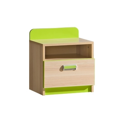 Dětský noční stolek LIMO zelený 082182