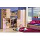 Dětská skříňka LIMO L7 fialová - v pokoji