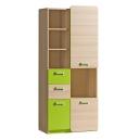 Dětská skříňka LIMO L7 zelená